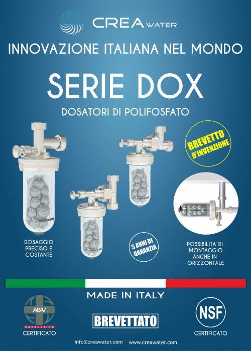 CARTELLO PUBBLICITA DOX 50X70 cm