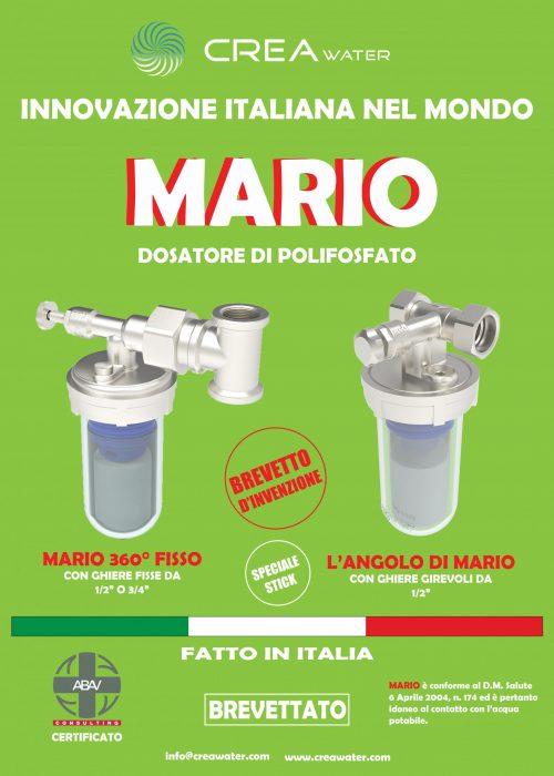 CARTELLO PUBBLICITA MARIO 50X70